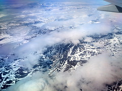 Sobrevolando Laponia (Asun Idoate) Tags: noruega laponia montañas nubes nieve vistaaérea
