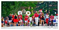 Marching Mayhem (Timothy Valentine) Tags: 2017 large marchingband 0717 parade music sliderssunday braintree massachusetts unitedstates us