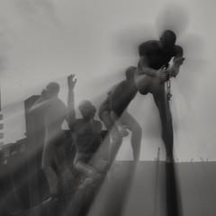 Keti Koti (Giel Pieter) Tags: bw rotjeknor rotterdam ketikoti dutch thenederlands history statue celebrating