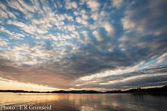 Raunefjorden , sunset (2000stargazer) Tags: raunefjorden hjellestad bergen norway sunset fjord heaven clouds sky reflections seascape landscape dark light canon nature water