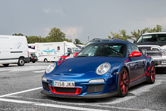 997 GT3RS (Nico K. Photography) Tags: porsche 997 gt3 rs mkii blue red spec supercars rare nicokphotography italy monza