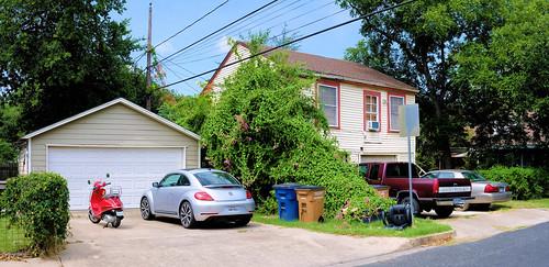 Garage and garage-apartment, Rosedale neighbourhood, Austin