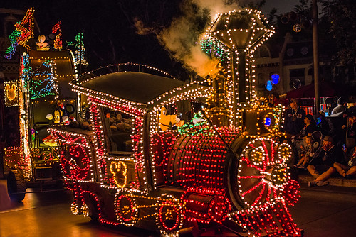 Main Street Electrical Parade in Disneyland
