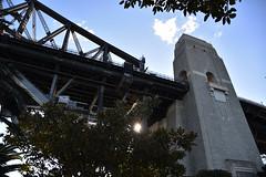 Through the beams (Daniel Bonaventura) Tags: milsons point sydney harbour bridge pylon