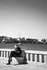 Otranto (GiuCip87) Tags: otranto puglia salento blackandwhite giornale leggendo mare sun sea reading biancoenero