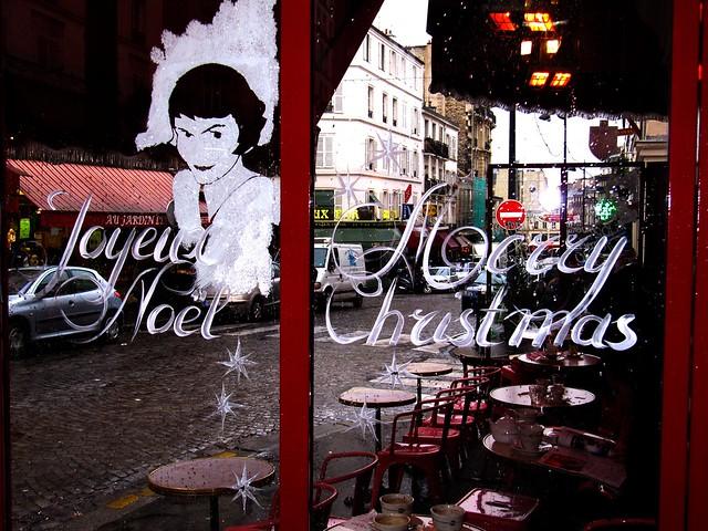 Amelie Poulain : Joyeux Noel - Feliz Navidad by Pantchoa