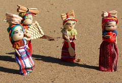 4 worry dolls at work by Leonard John Matthews, on Flickr