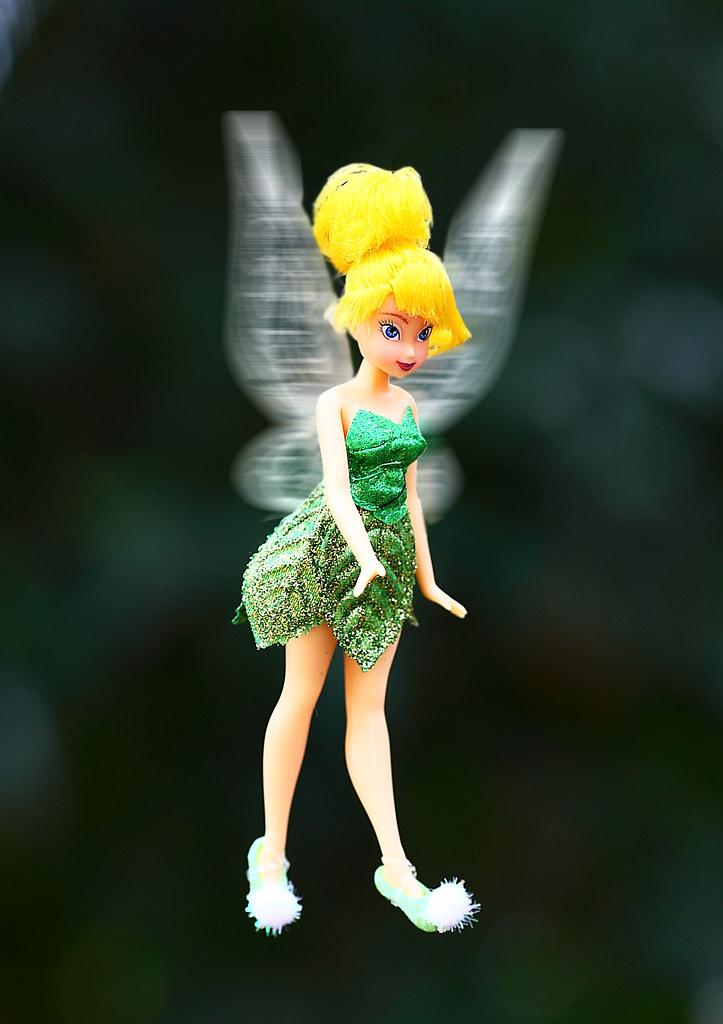 Tinkerbell in Flight