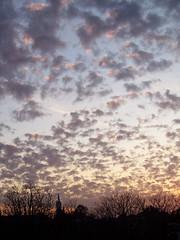 Dusky Sky (evil nickname) Tags: sky clouds dusk nederland thenetherlands wolken lucht amersfoort schemering onzelievevrouwetoren langejan