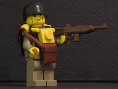 M1 Carbine (antha) Tags: us lego wwii review paratrooper brickarms