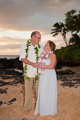 Linda&Don Maui -5267 (Mike Rosati Photography) Tags: ca wedding sunset andy hawaii secretbeach maui rosati makenacove lindamorgan donzacharias