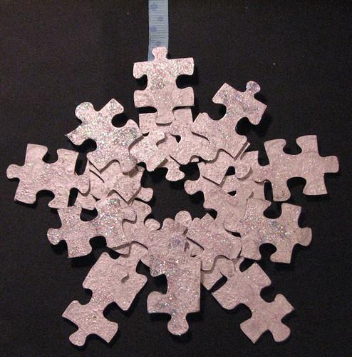 #9 - Puzzle Ornaments 007
