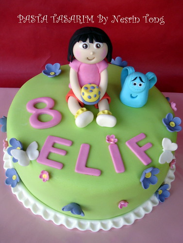 DORA CAKE - ELIF'S BIRTHDAY