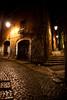 Il bivio (gab 79) Tags: italy night italia canonef2470mmf28lusm notte alleys vicoli sermoneta —obramaestra—