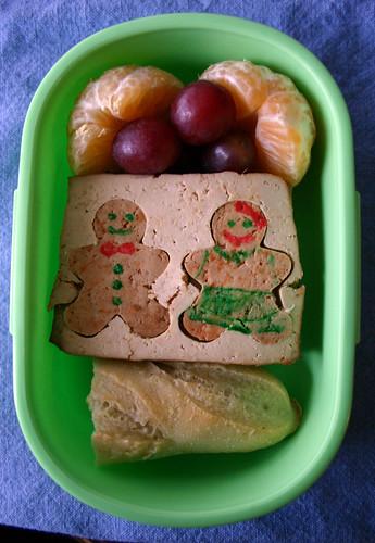Kindergarten Bento #272: December 10, 2009