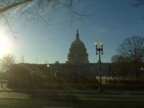 On Capital hill