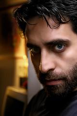 LAST SELF PORTRAIT (ANTONIO_DM) Tags: blue selfportrait man color face beard eyes colore cara autoretrato occhi uomo ojos autoritratto hombre barba faccia azules azzurri
