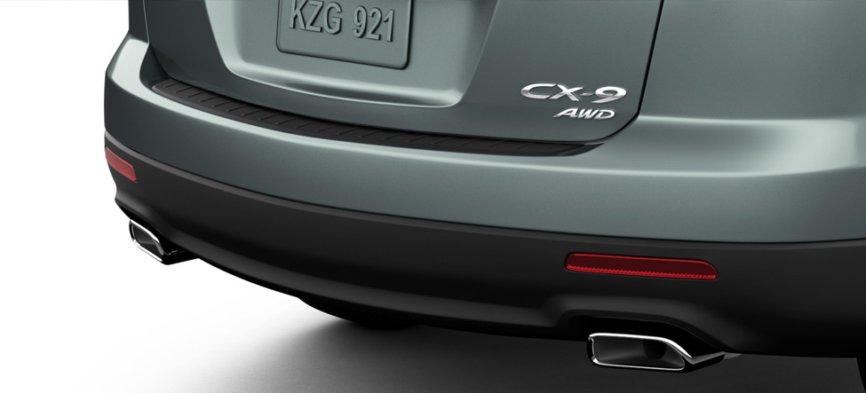 chrome dual exhaust Mazda CX-9