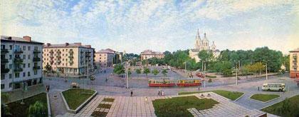 Житомир. Площадь Победы