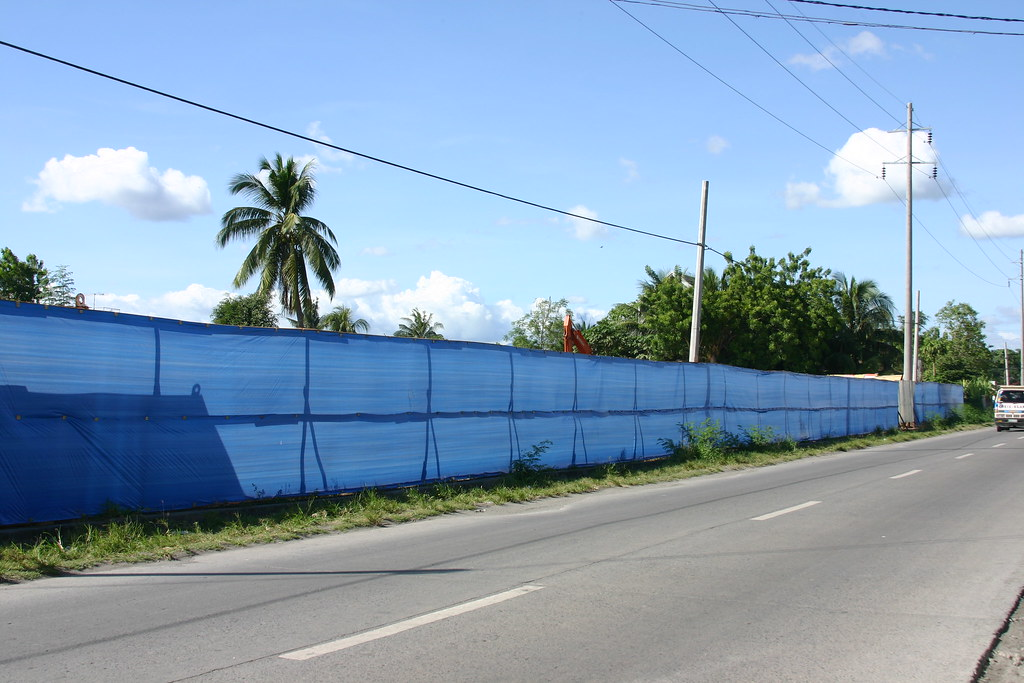 The property where the P70million Culinary School and Pre-School will rise.  It is located along Leon Llido Street.