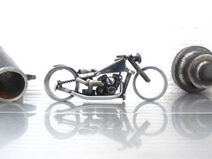 Scrap metal bike #111