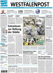 Westfalenpost (19.12.2009): 100 Jahre Borussia Dortmund (BVB)