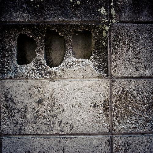Three Holed Wall