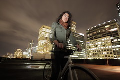 Patience (Ray Tracing) Tags: seattle night bikes fixedgear darkdays canon40d canon580exii