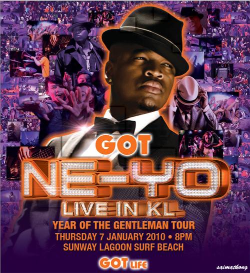 GOT NE-YO Live in KL GOT Life