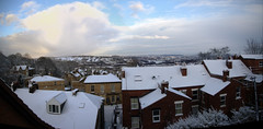 Sheff Panorama 2 (Phil Gadsby [Gadders]) Tags: uk houses panorama snow pentax sheffield valley don crookes terraced k100d