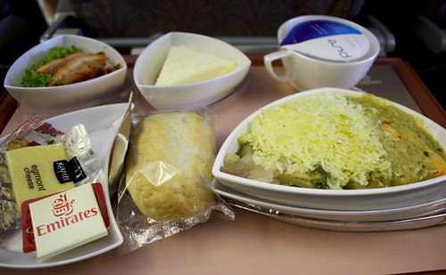 Emirates Airline Meal
