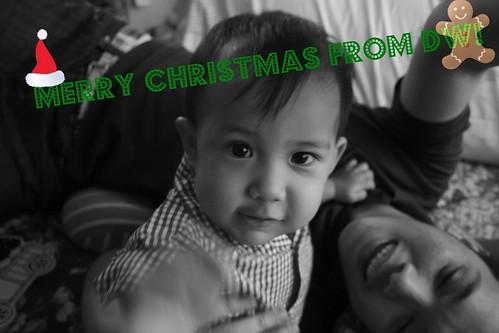 christmas 2009_b&w