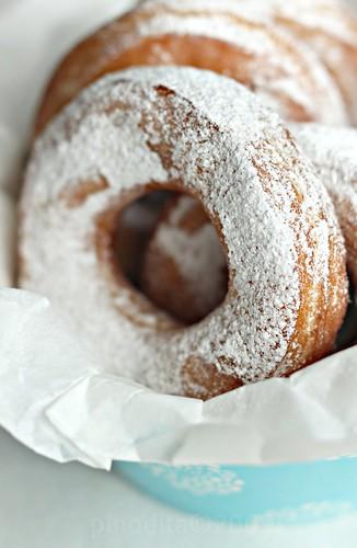 homemade donut (donat kampung)