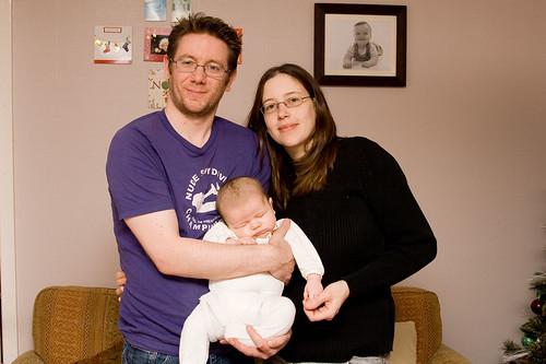Bryan, Maria & Owen Robertson