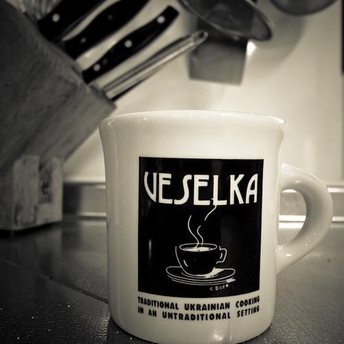 Veselka's Coffee Mug