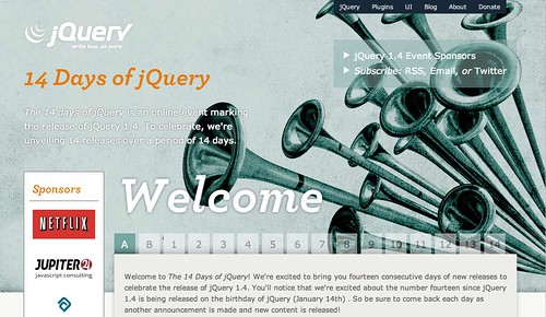 The New jQuery 1.4 Site