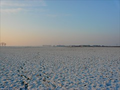 Infinity . (Franc Le Blanc .) Tags: winter sunset snow lumix infinity horizon meadows panasonic soe anawesomeshot theperfectphotographer dmcfz18