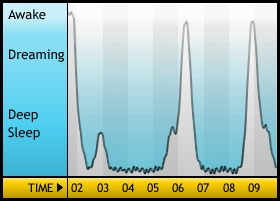 Sleep Graph, 2010-01-09