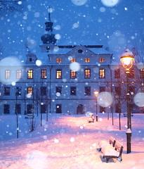 Snowflakes at Břevnov Monastery