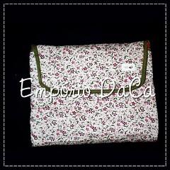 Capa de Notebook Little Flowers (emporiodaca) Tags: notebook handmade artesanato notebookbag capadenotebook empriodaca