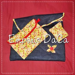 Capa de Notebook Yellow (emporiodaca) Tags: notebook handmade artesanato notebookbag capadenotebook empriodaca