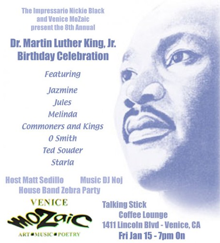 Dr. Martin Luther King Jr. Birthday Celebration