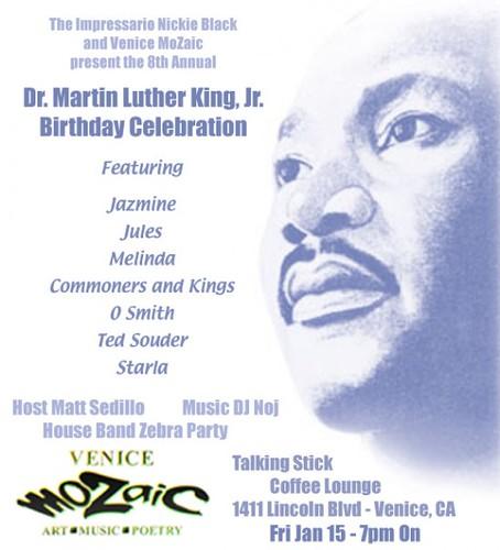Dr. Martin Luther King Jr. Birthday Celebration