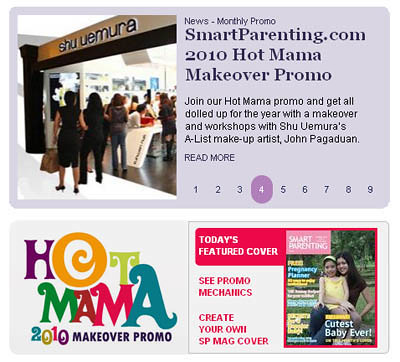 Smart Parenting Hot Mama Makeover Promo