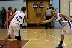Touch. (Erica Robyn) Tags: sports boys basketball action bball vikings eagles vinalhaven islesboro ericarobynphotography ericarobyn