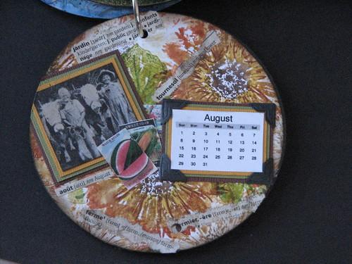 CD Calendar - August 012