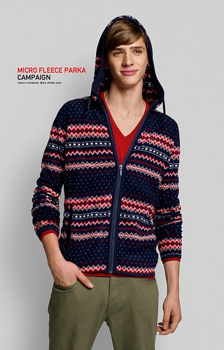 UNIQLO 0206MICRO FLEECE PARAKA_Jamie Conday