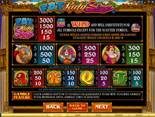 free Fat Lady Sings slot mini symbol
