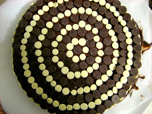 Chocolate Banana Stud Cake