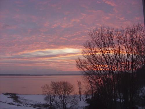 sunrise, Westport, NY 1/10/10